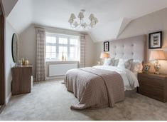 Rooms of patricinhas - Home Fashion Trend Bungalow Bedroom, Home Bedroom, Bedroom Decor, Bedroom Ideas, Bedroom Inspo, Master Bedrooms, Bedroom Designs, Bedroom Colors, Beige Carpet Bedroom