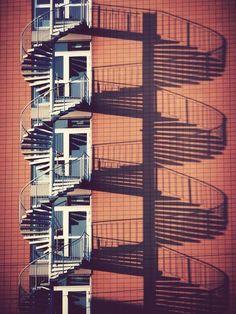 @ElMundoEnFoto Escalera en espiral, Karlsruhe - Alemania.
