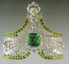 Emerald Bracelet (Russian Crown Jewels)