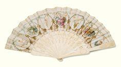 A collection of 16 fans, circa 1740-1900