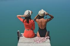 #girls #sea #happiness