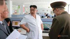 Kim Jong Un looks like a sassy NHS nurse