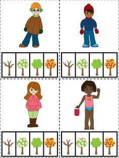 Seasons Activities, Science Activities For Kids, Kindergarten Activities, Autism Preschool, Free Preschool, Flashcards For Toddlers, Free Printables, Homographs, Kids Crafts