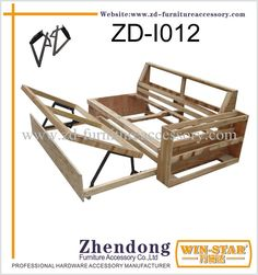 Sofa Bed Hinges, Furniture Hinges, Folding Furniture, Folding Beds, Bedroom Furniture Design, Furniture Upholstery, Sofa Bed Wooden, Wooden Walls, Sofa Cumbed