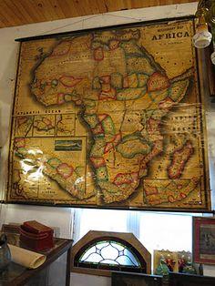 A walk through history. Africa