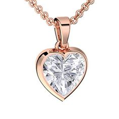 Mode | Membership Or Rose, Rose Gold, Plaque, Pocket Watch, Pendant Necklace, Heart, Jewelry, Zirconium, Super