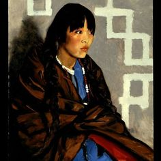 Robert Henri. Indian Girl.