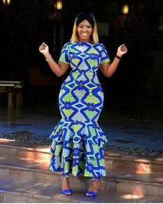 Ankara Outfit, Ankara Dress, African dress, African wax prints, African Clothing… Remilekun - African Styles for Ladies African Wedding Dress, African Print Dresses, African Wear, African Attire, African Fashion Dresses, African Women, African Dress, African Outfits, African Prints