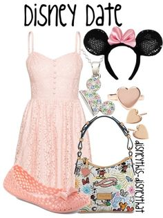 """Disney Date""  by DisneyThis-DisneyThat on Tumblr"