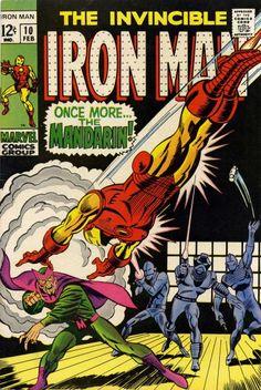 Iron Man Vol 1 10 Silver Age Comic Book. Comic Books For Sale, Marvel Comic Books, Comic Books Art, Book Art, Tony Stark, Invincible Comic, Deadpool, Iron Man Armor, Silver Age Comics