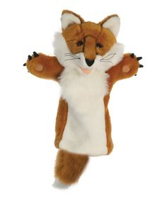 Take a look at this Fox Glove Puppet by The Puppet Company on #zulily today!