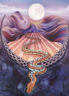 Desert Muse / Moon Mandala / Sacred Geometry <3