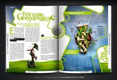 DIAGRAMACIONES CREATIVAS | Tipografia + Diagramacion