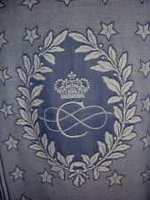 COSULICH LINE-LARGE CHILDREN BED COVER OR TABLE COVER-HUGE CROWN LOGO- A BEAUTY Table Covers, Bed Covers, Bed Crown Canopy, Bed Skirts, Crown Logo, Dust Ruffle, Kid Beds, Decorative Plates, Tapestry