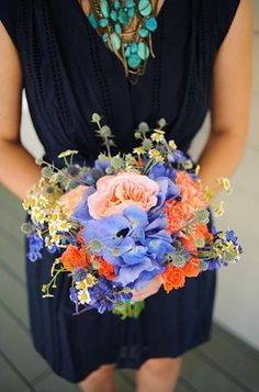 rustic country bridesmaid bouquet, @katlynnkolb I can see you liking this!