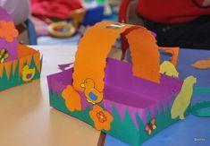 Petits paniers de Pâques | nounou assistante maternelle à ...
