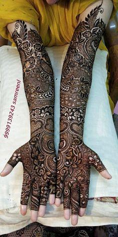Henna Hand Designs, Mehndi Designs Finger, Wedding Henna Designs, Latest Bridal Mehndi Designs, Full Hand Mehndi Designs, Mehndi Designs 2018, Mehndi Designs For Girls, Indian Henna Designs, Latest Arabic Mehndi Designs