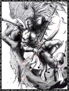 Archangel michael-Nevermore by DraftmanArt on DeviantArt St. Michael Tattoo, Archangel Michael Tattoo, Warrior Of The Light, Spartan Tattoo, Sailor Jerry Tattoos, Angel Warrior, Christian Images, Religious Tattoos, Guy Drawing