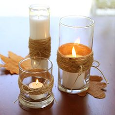 Thanksgiving Table Centerpiece Quick and Easy Project Charming natural and rustic home accessories are always popular during Fall and Thanksgiving. This is an easy project that will only cost a few...