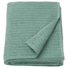 VÅGSJÖN Drap de bain - IKEA Towel, Ikea Furniture, Towels, Soft Towels, Bright Green, Gray Green, Gloves