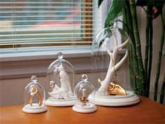 1000 images about glass cloche jewelry storage on for Cloche decorative verre