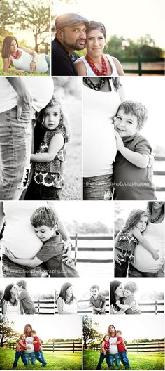 Maternity Photo Shoot With Kids