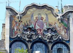 BUDAPEST GO LOCAL: Art Nouveau Wonders in Budapest #6 - Róth Miksa Memorial House