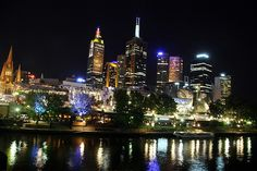 #Melbourne night life