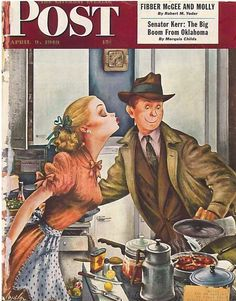 The Saturday Evening Post April 9 1949 Cover by Alajalov Vintage Americana