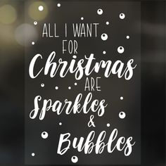 Christmas Deco, Xmas, Hug You, Magnets, Bubbles, Sparkle, Ship, Winter, Craft