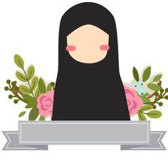 Muslim Girls, Muslim Women, Muslim Couples, Hijab Drawing, Moslem, Islamic Posters, Islamic Cartoon, Hijab Cartoon, Islamic Girl