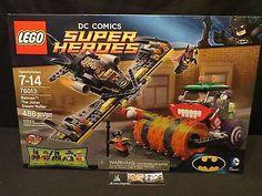 Lego 76013 set DC Super Heroes Batman The Joker Steam Roller sealed 486 pieces