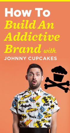 An incredible podcast interview with Johnny Cupcakes founder, Johnny Earle