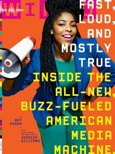 The Daily Show's Jessica Williams on the cover of Wired magazine.