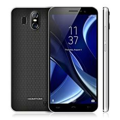 HOMTOM S16  - $39.99 (coupon: HOMS16 ) 3G Phablet BLACK  2GB RAM 16GB ROM 13.0MP + 2.0MP Dual Rear Cameras #смартфон, #смартфон, #Xiaomi, #gearbest   2894