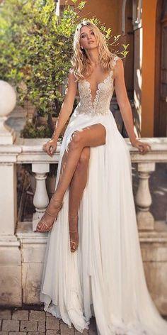 Dimitrius Dalia Wedding Dresses For Modern Bride ❤️ See more: http://www.weddingforward.com/dimitrius-dalia-wedding-dresses/ #weddings