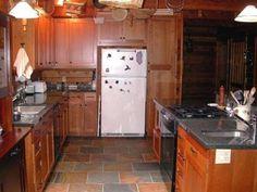 Slate Flooring Kitchen Great Value Of Slate Floor Kitchen