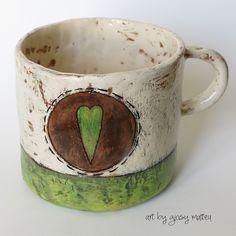 Slab Pottery, Glazes For Pottery, Pottery Mugs, Ceramic Pottery, Pottery Art, Pottery Painting, Ceramic Painting, Ceramic Artists, Clay Mugs