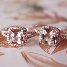 Morganite dreams.