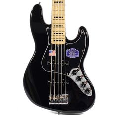 Fender American Deluxe Jazz Bass V - Black