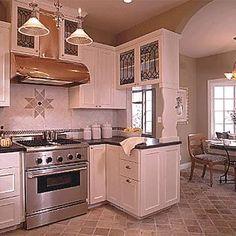 updated historic kitchen