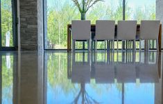 Béton Prestige, the Master of the Art of Polished Concrete. Polished Cement, Polished Concrete Flooring, Best Trade, Site Visit, Heating Systems, The Prestige, Epoxy, Home, Art