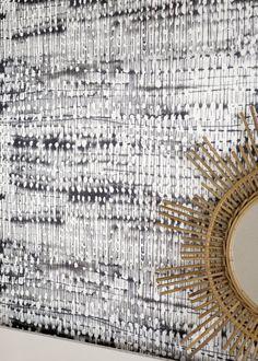 Papier peint: l'intensité du noir et du blanc - Marie Claire Maison