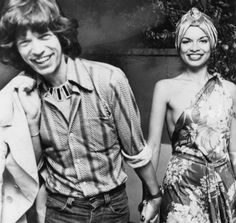 Anjelica and Jack Forever: 11 Vintage Couples We Wish Were Still Together – Vogue - Bianca and Mick Jagger