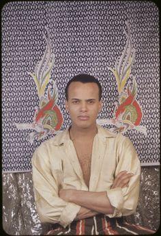 Harry Belafonte, 1954, by Carl van Vechten