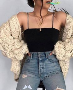 Springoutfits2020  <br> Spring Fashion Outfits, Cute Fall Outfits, Look Fashion, Trendy Outfits, Autumn Fashion, Summer Outfits, Fashion Dresses, Korean Outfits, Spring School Outfits