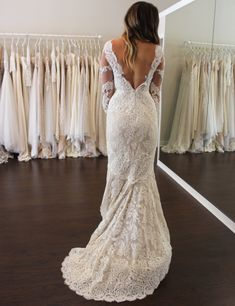 Wedding Dress Shopping at Malindy Elene in Tampa, FL (Anne Barge 'Laurel') Wedding Dress Shopping, Wedding Dresses, Anne Barge, Lace, Fashion, Bride Dresses, Moda, Bridal Gowns, Fashion Styles