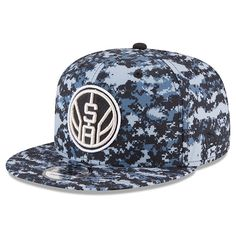 c92b6c1eb288d Men s San Antonio Spurs New Era Black Gray NBA City Series Original Fit  9FIFTY
