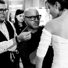 #StefanoGabbana Stefano Gabbana: Behind The Runway : an exclusive access to the Dolce&Gabbana Alta Moda Backstage. Photo by @mattleverphoto ❤️❤️❤️