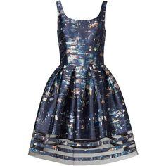 Rental Sachin & Babi Cityscape Dress (4.595 RUB) via Polyvore